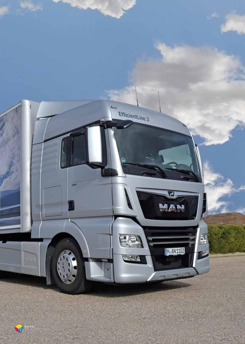 MAN TGX 500 EFFICIENTLINE 3: EFICIENCIA RÉCORD! - PDF