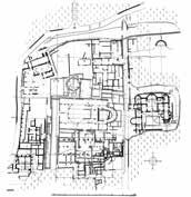 Cities lands and ports in late antiquity and the early middle ages a salona ground plan of the quarter in the fandeluxe Images