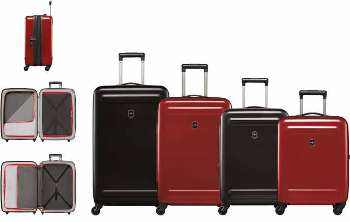 272d0e5e7 ETHERIUS GLOBAL CARRY-ON MALETA DE CABINA ESTÁNDAR EXPANDIBLE ULTRALIGERO  CON 4 RUEDAS largo 39